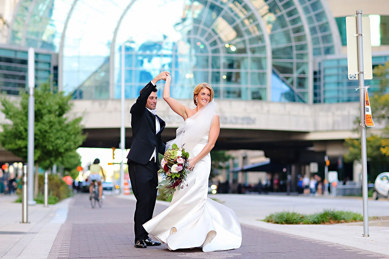 Kayci Matt Indiana Roof Ballroom Indianapolis Wedding 253