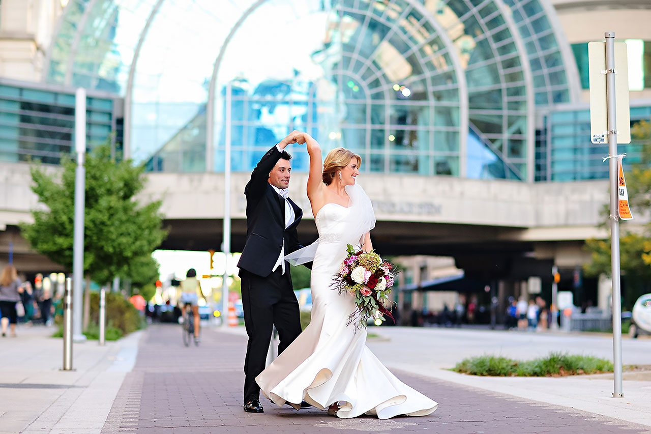 Kayci Matt Indiana Roof Ballroom Indianapolis Wedding 257