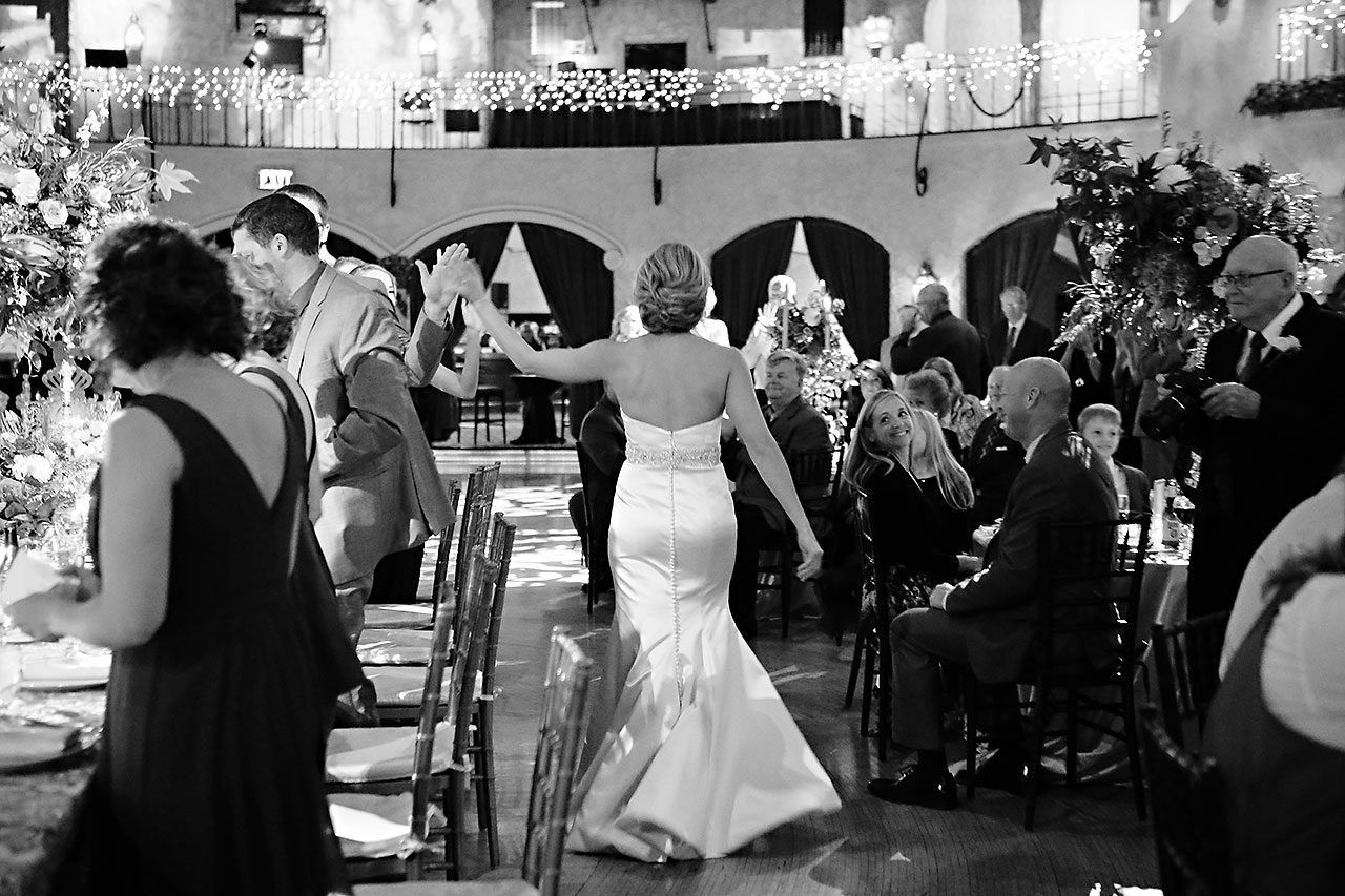 Kayci Matt Indiana Roof Ballroom Indianapolis Wedding 315