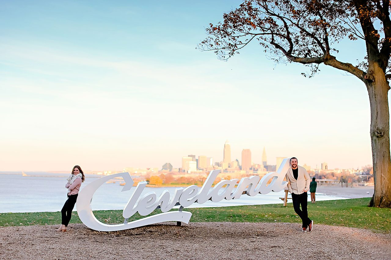 Kelsey Joe Cleveland Engagement Session 113