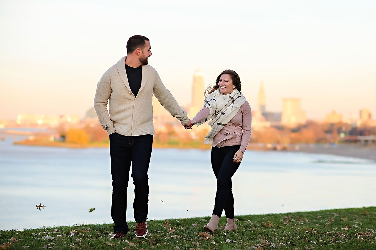 Kelsey Joe Cleveland Engagement Session 114