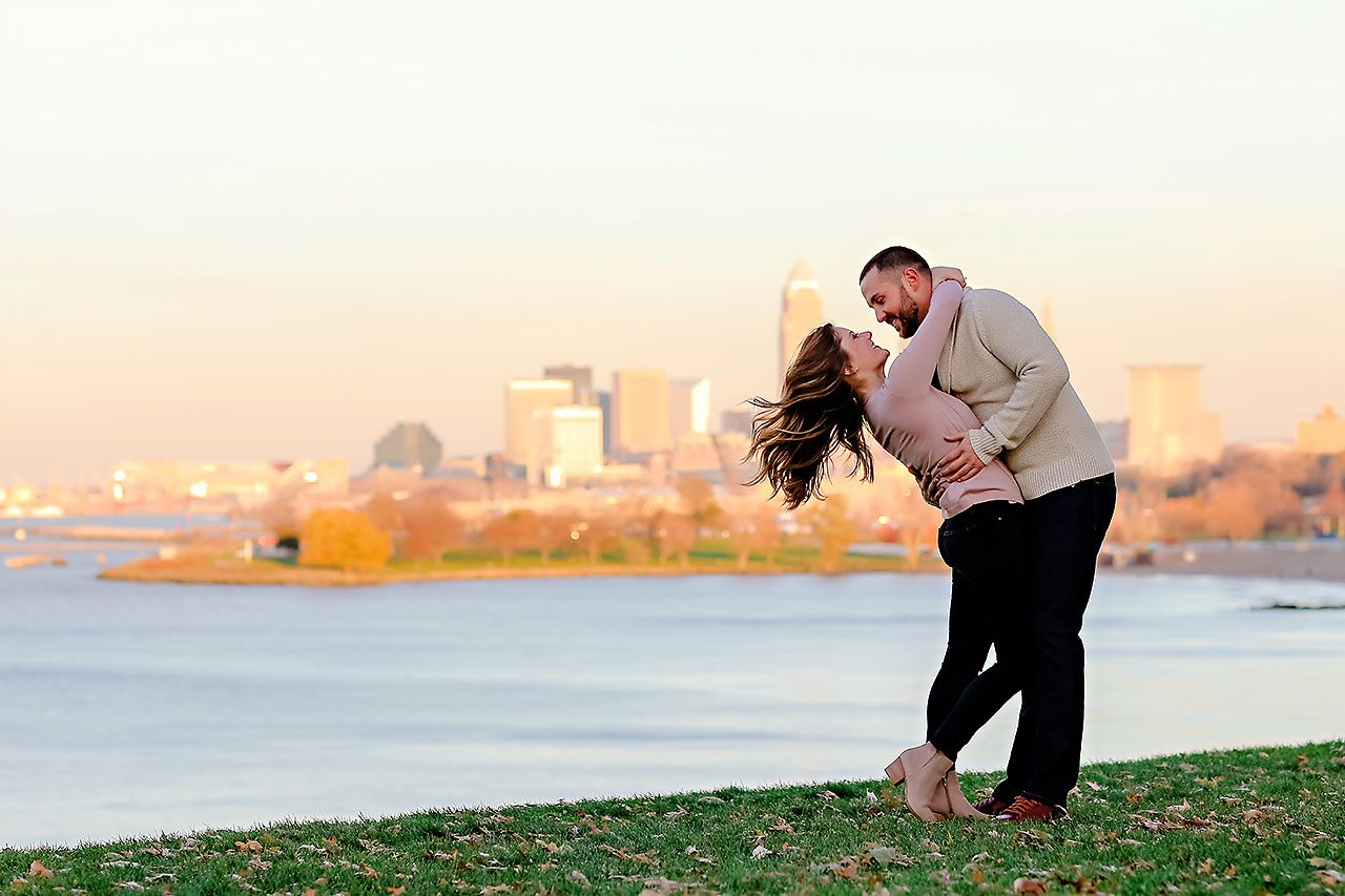 Kelsey Joe Cleveland Engagement Session 123
