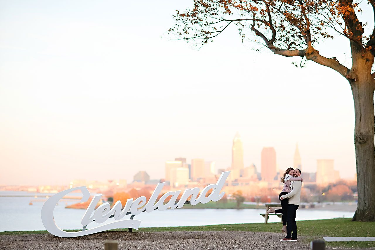 Kelsey Joe Cleveland Engagement Session 131