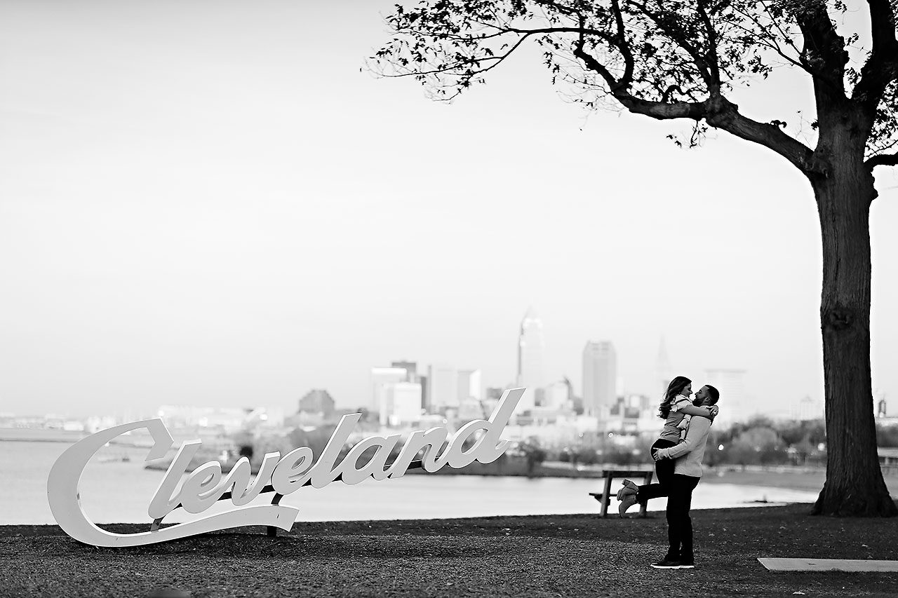 Kelsey Joe Cleveland Engagement Session 135