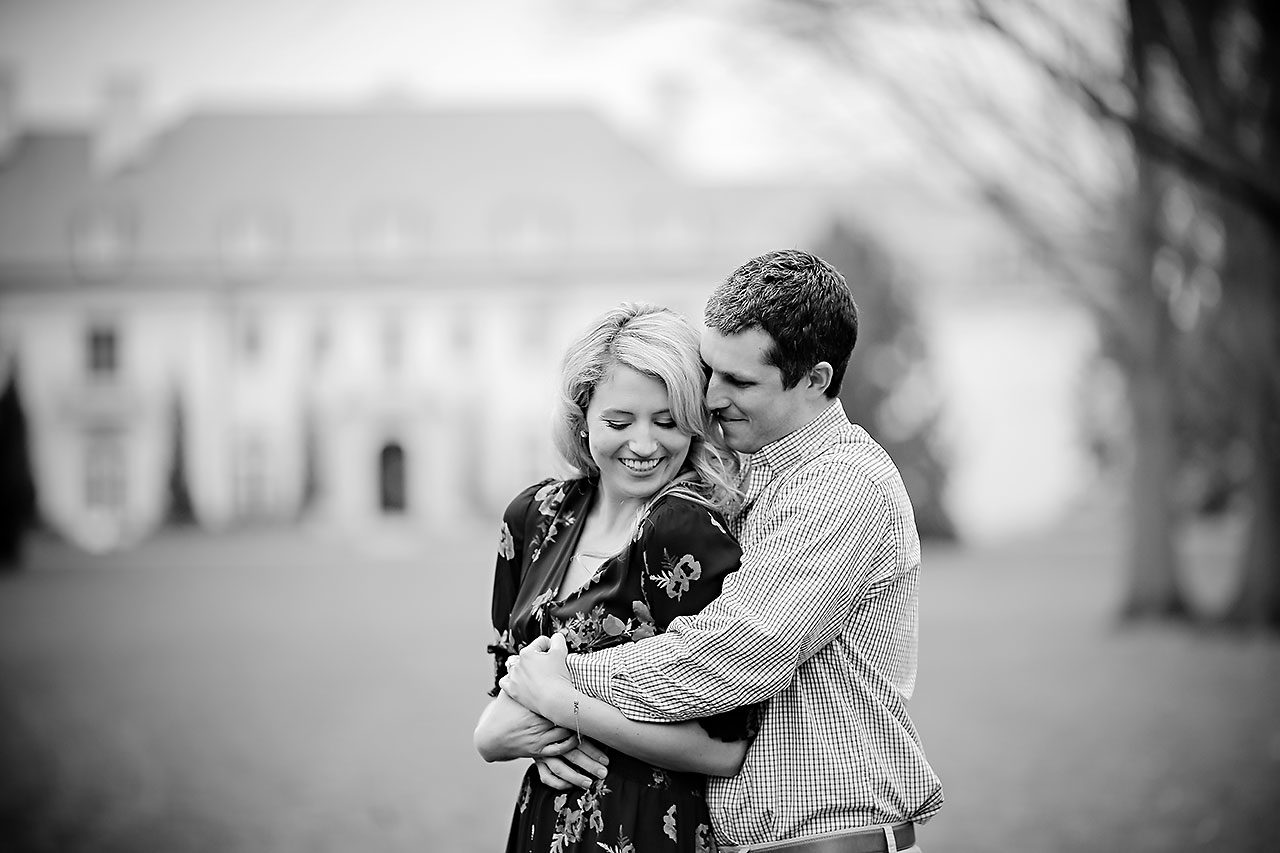 Emily Alex Indianapolis Museum of Art Engagement Session 033