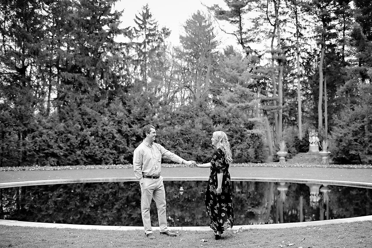 Emily Alex Indianapolis Museum of Art Engagement Session 035