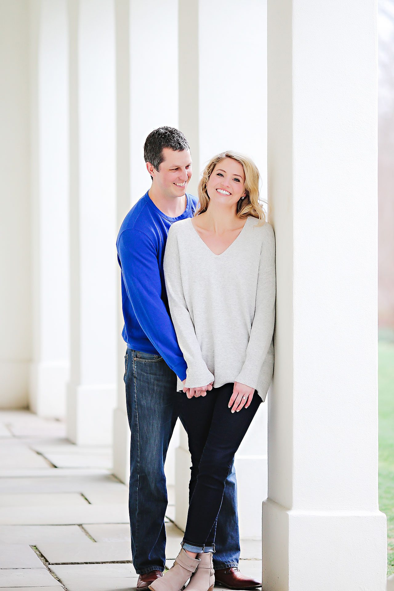 Emily Alex Indianapolis Museum of Art Engagement Session 073