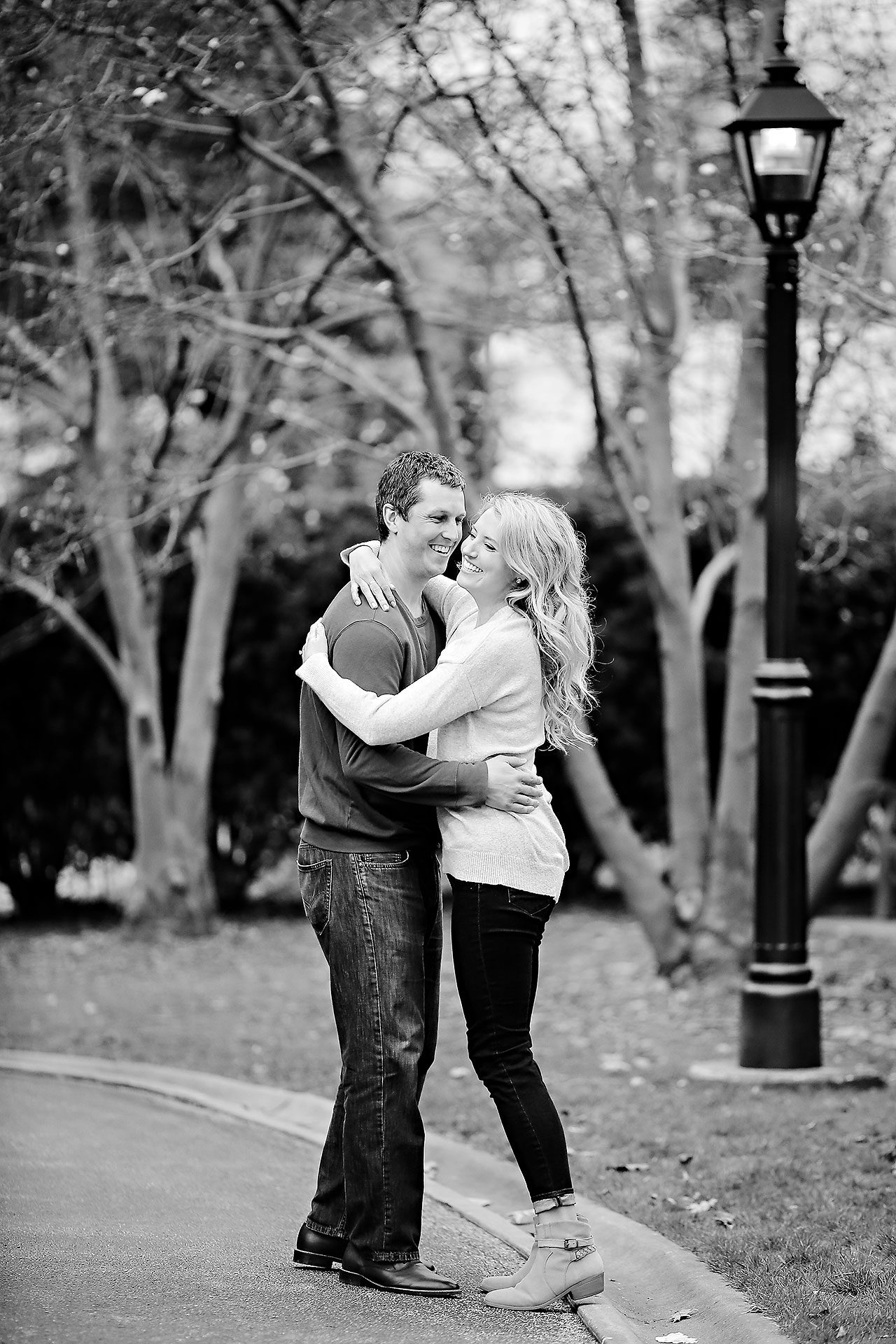 Emily Alex Indianapolis Museum of Art Engagement Session 095