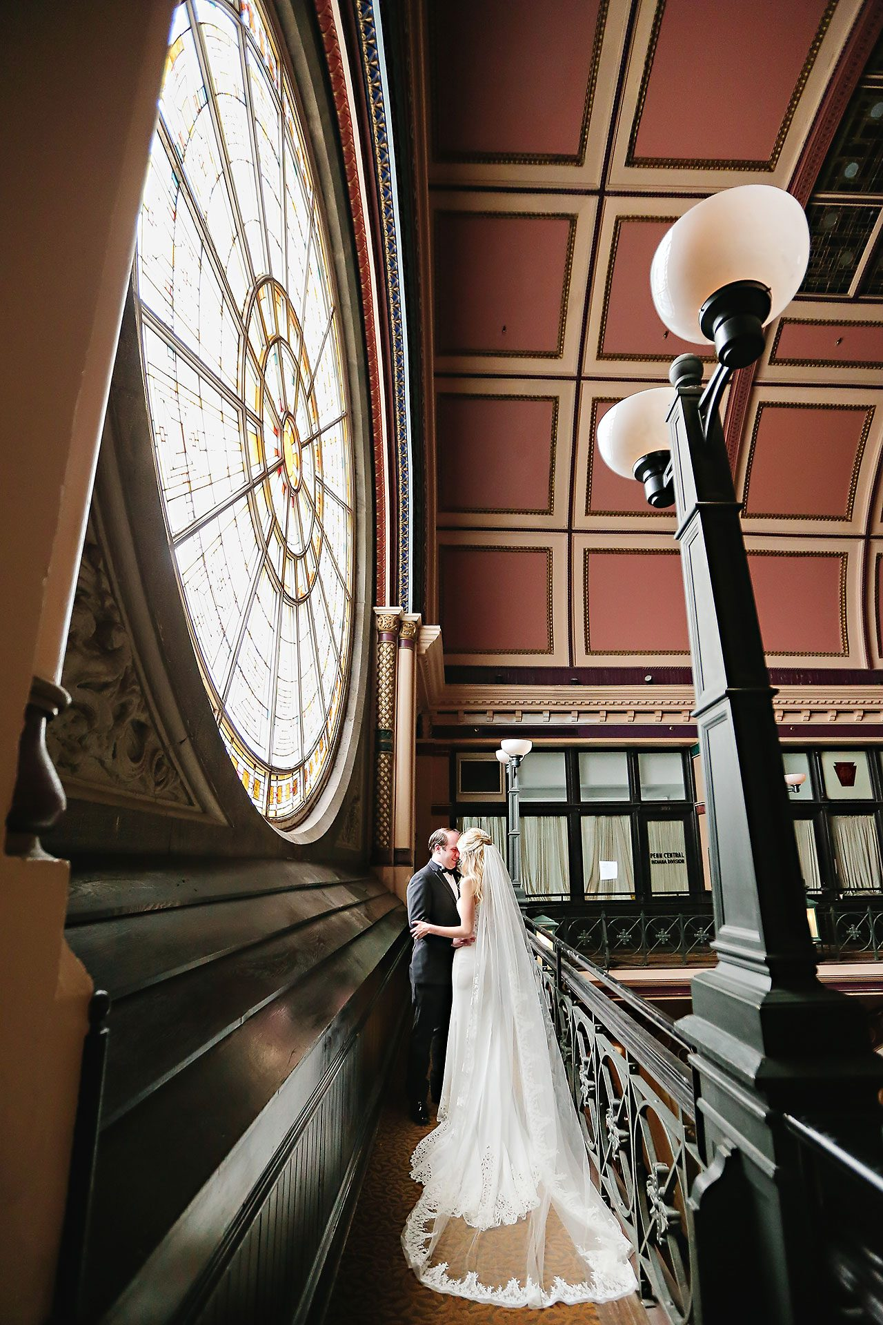 Allison Jeff Union Station Crowne Plaza Indianapolis wedding 062