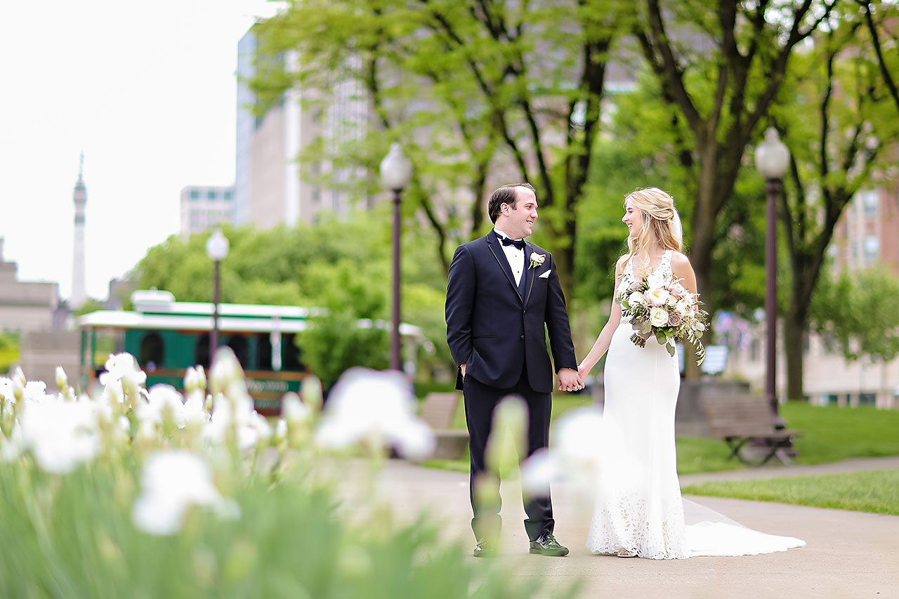 Allison Jeff Union Station Crowne Plaza Indianapolis wedding 170