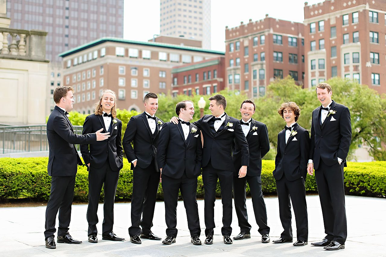 Allison Jeff Union Station Crowne Plaza Indianapolis wedding 171