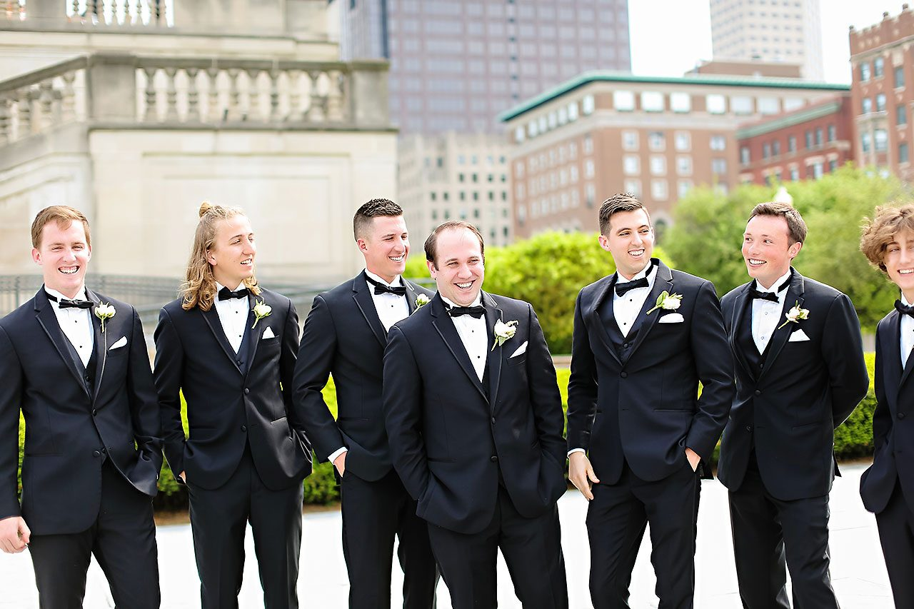 Allison Jeff Union Station Crowne Plaza Indianapolis wedding 186