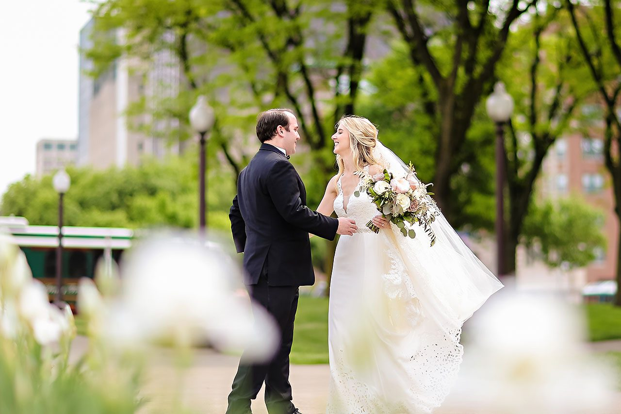 Allison Jeff Union Station Crowne Plaza Indianapolis wedding 194