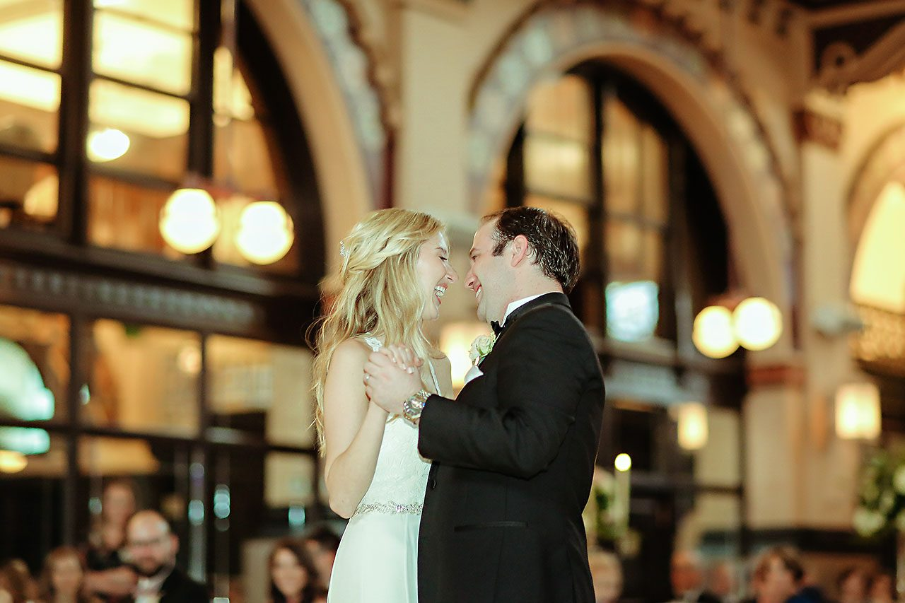 Allison Jeff Union Station Crowne Plaza Indianapolis wedding 301
