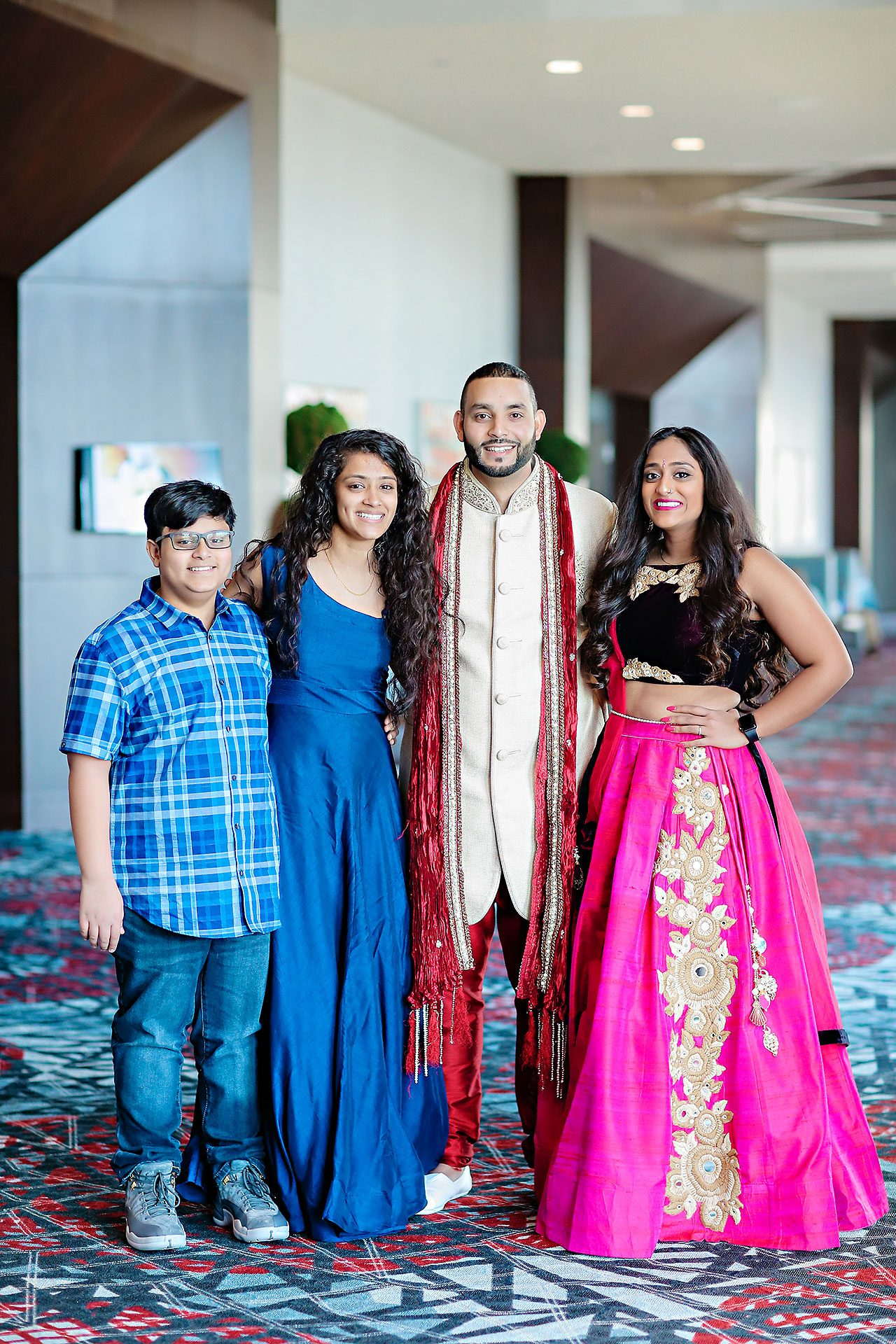 Neil Ganesh Pooja Embassy Suites Conference Center Noblesville 074
