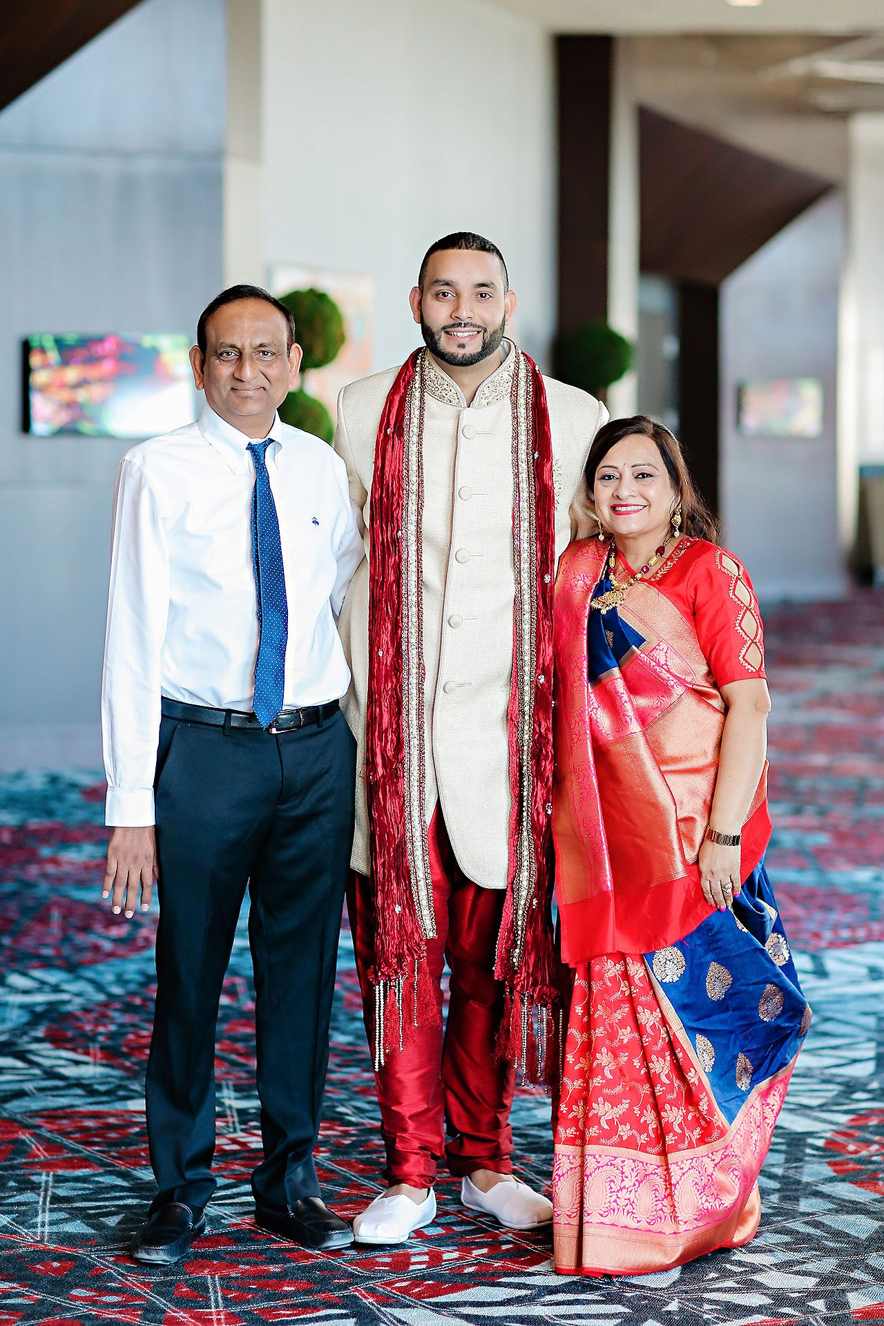 Neil Ganesh Pooja Embassy Suites Conference Center Noblesville 080