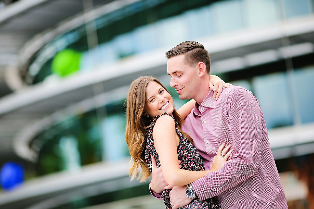 Erin Grant Indianpolis Museum of Art Newfields Engagement Session