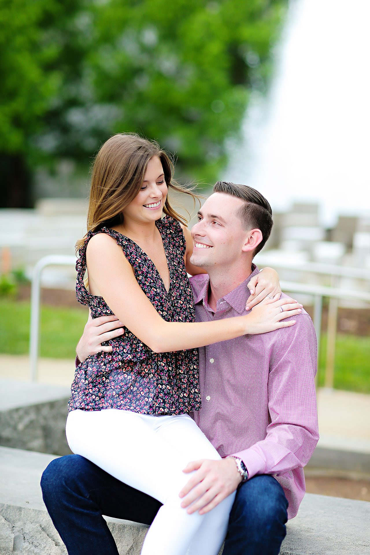Erin Grant Indianpolis Museum of Art Newfields Engagement Session 053