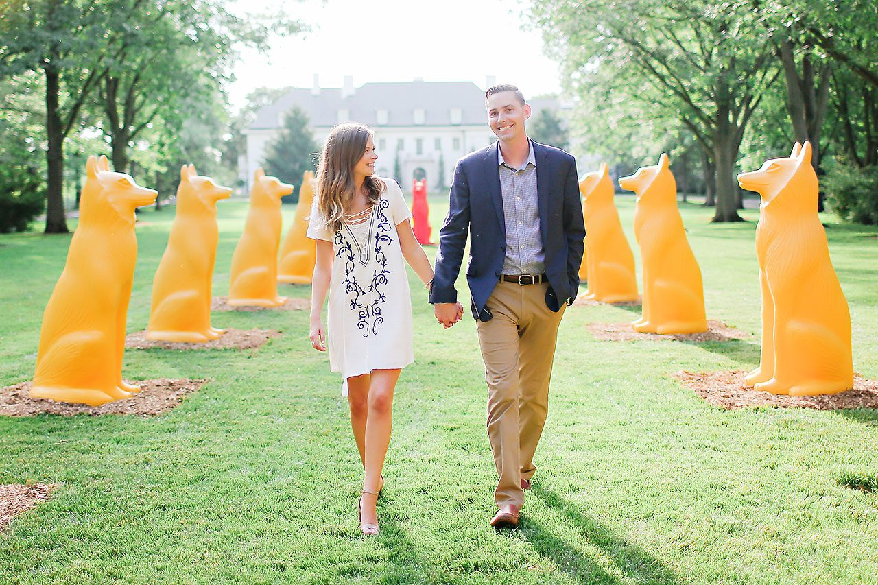 Erin Grant Indianpolis Museum of Art Newfields Engagement Session 084