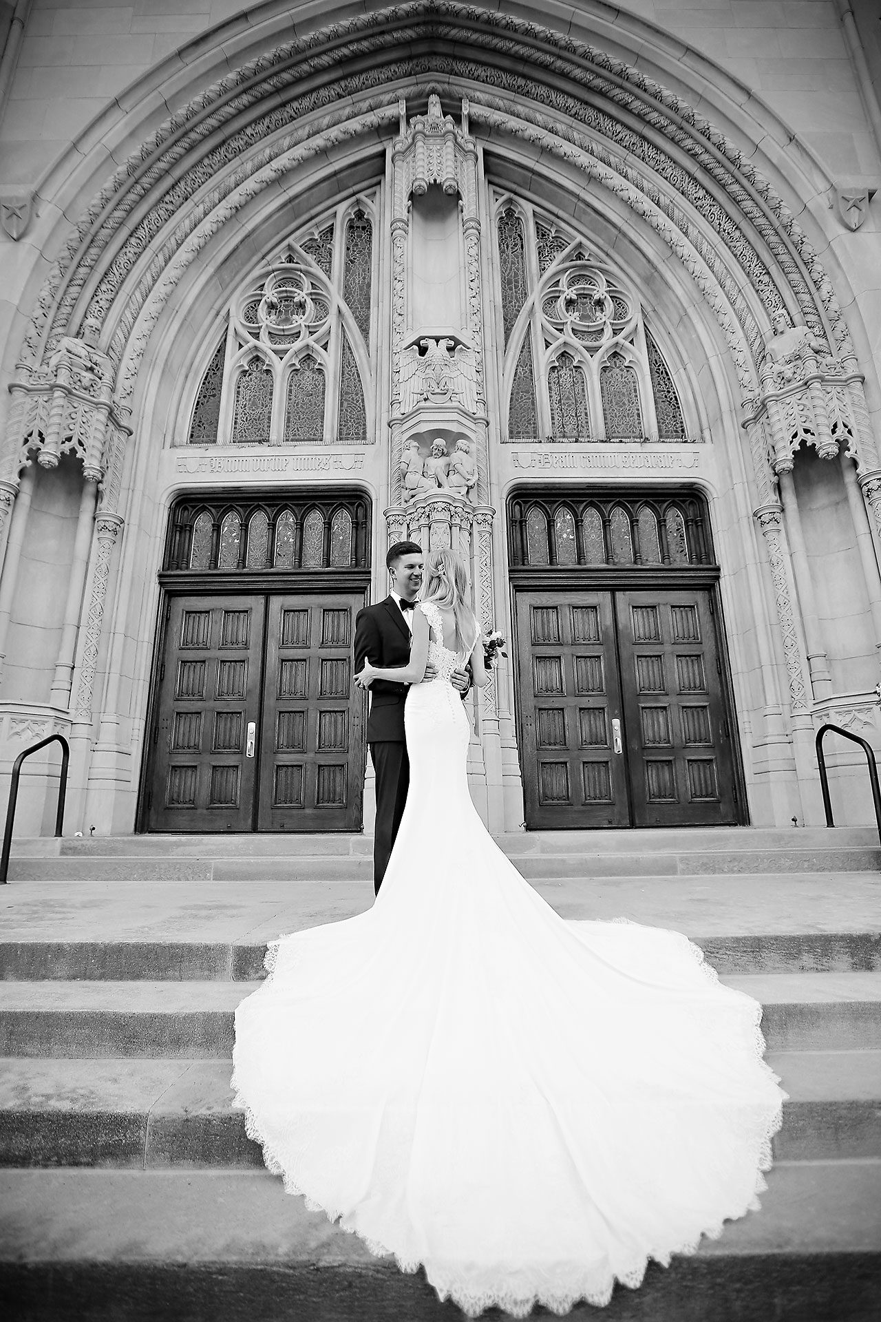Molly Declan Scottish Rite Indianapolis Wedding 193