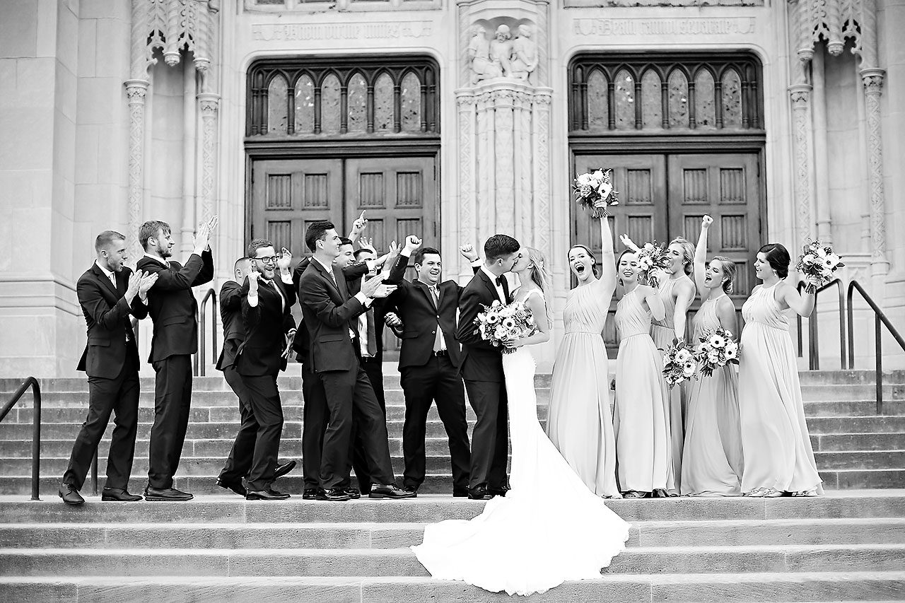 Molly Declan Scottish Rite Indianapolis Wedding 207