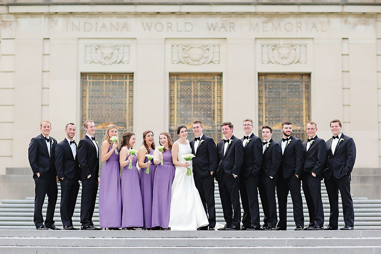 Ali Joey Conrad Indianapolis Wedding 163