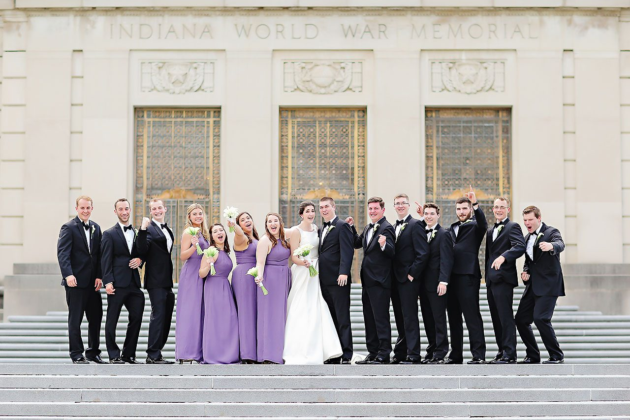 Ali Joey Conrad Indianapolis Wedding 210