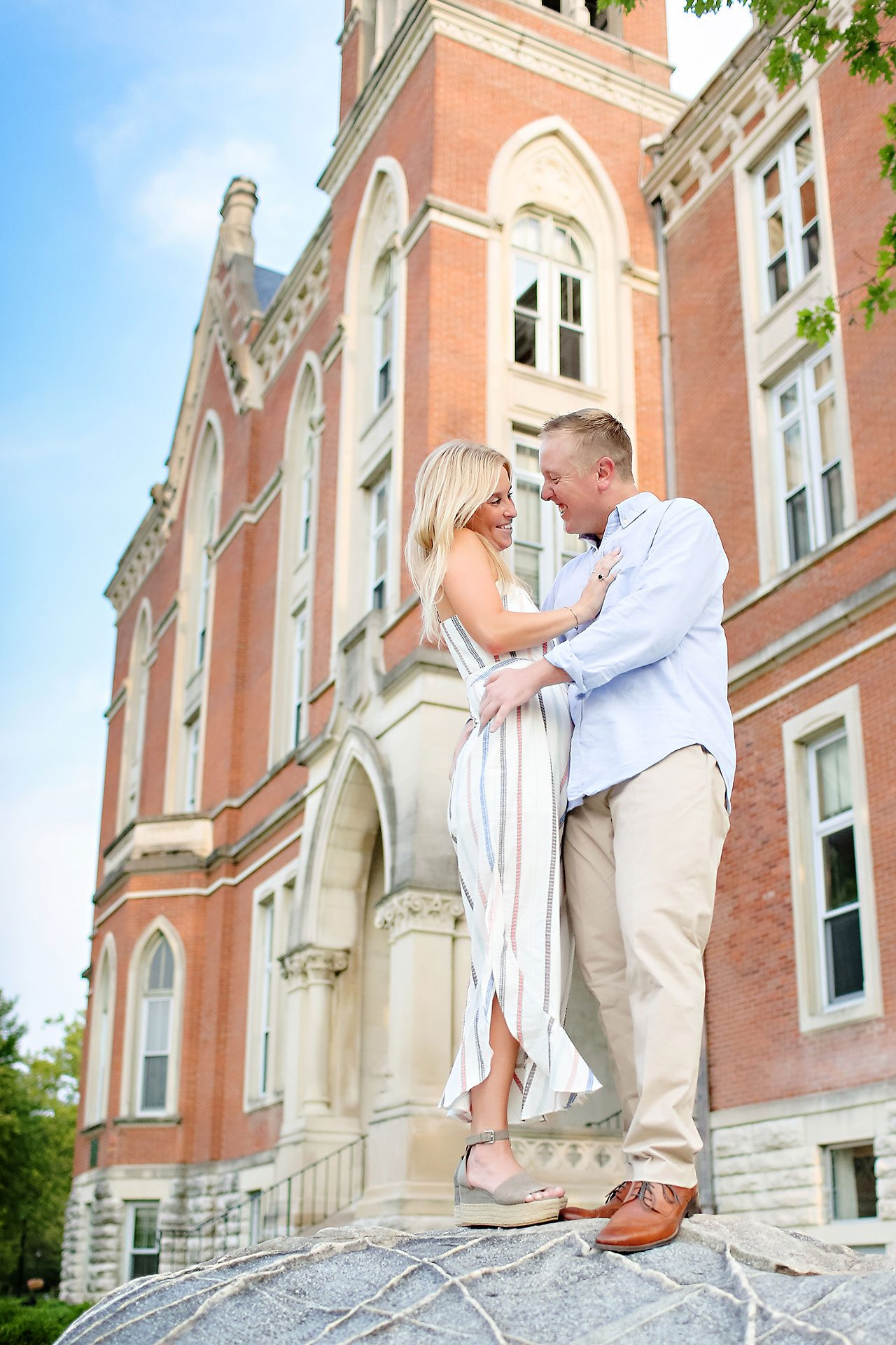 Jamie Reid Depauw University Engagement Session 034