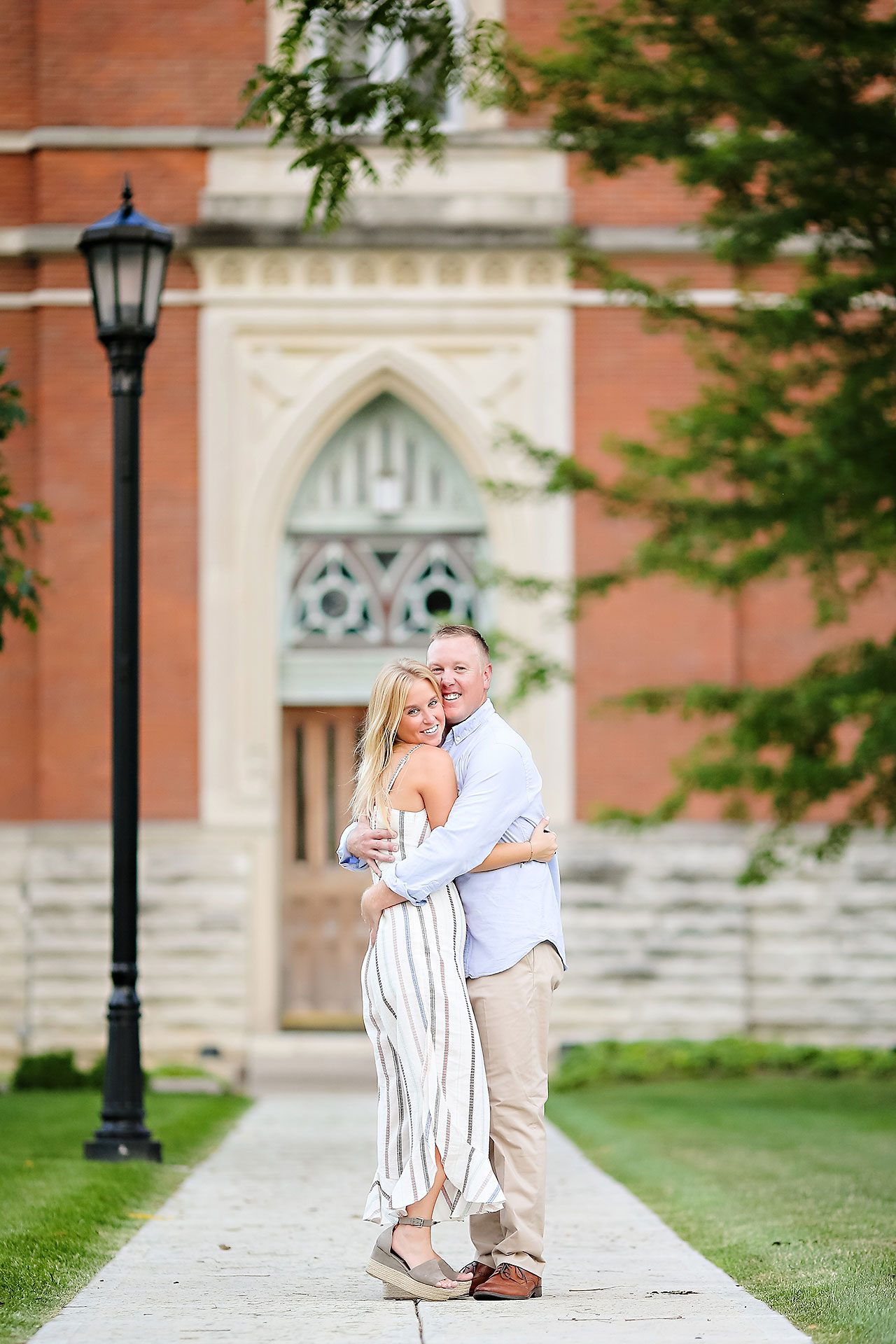 Jamie Reid Depauw University Engagement Session 036