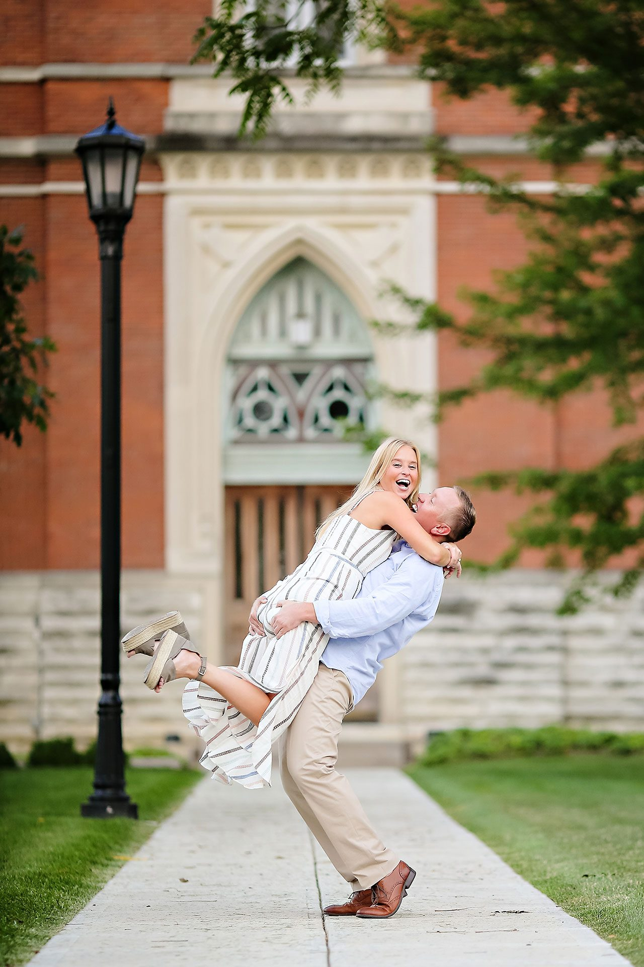 Jamie Reid Depauw University Engagement Session 046