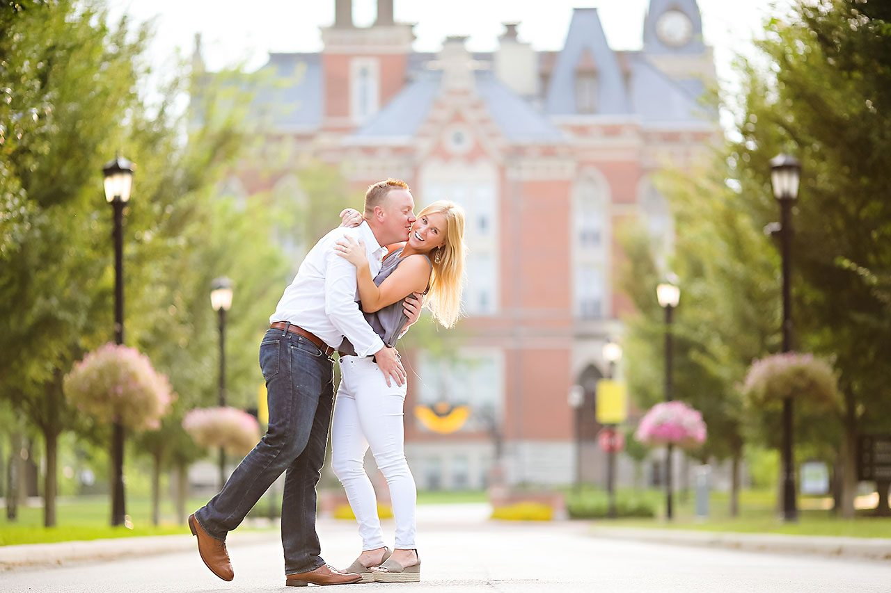 Jamie Reid Depauw University Engagement Session