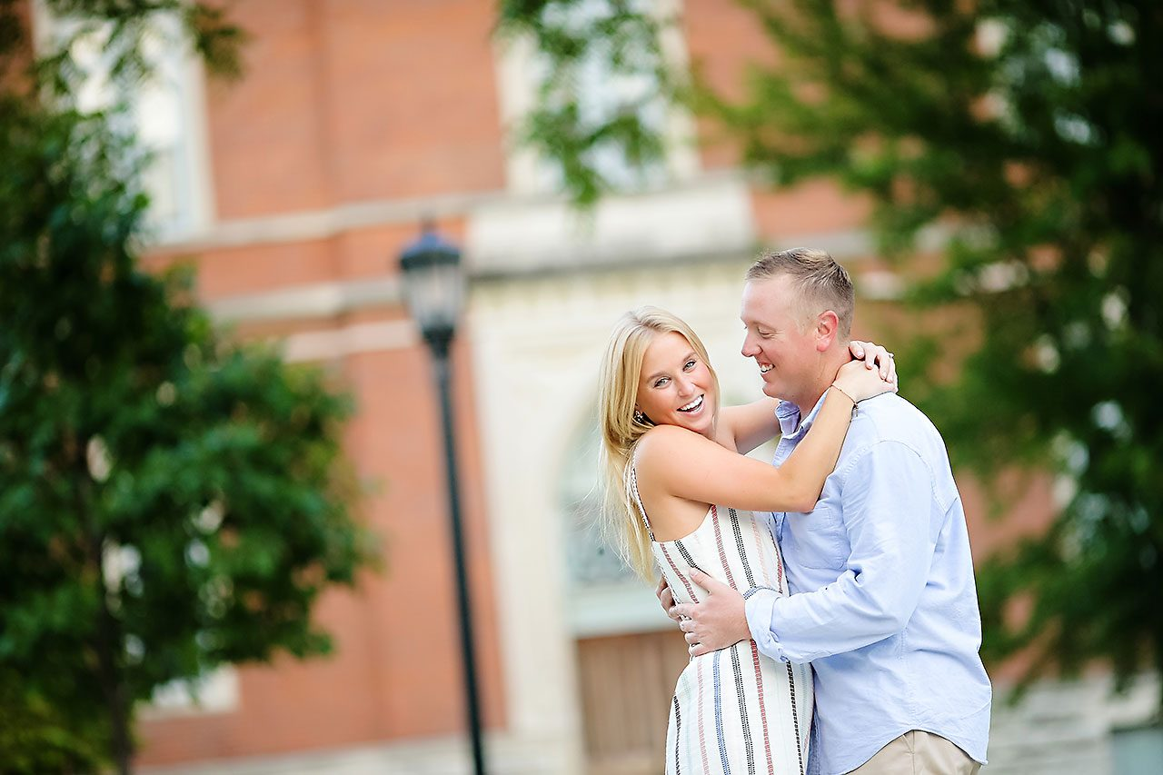 Jamie Reid Depauw University Engagement Session 049