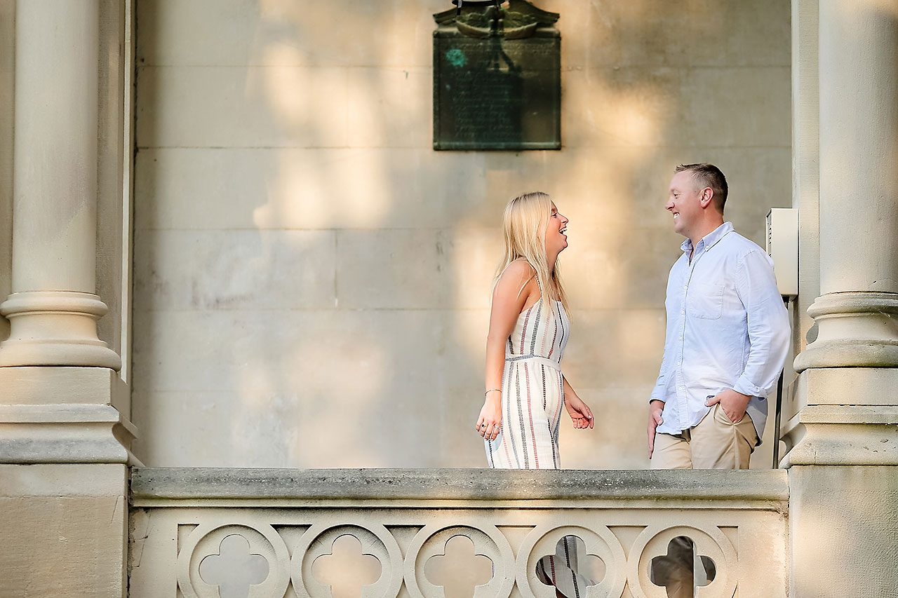 Jamie Reid Depauw University Engagement Session 050
