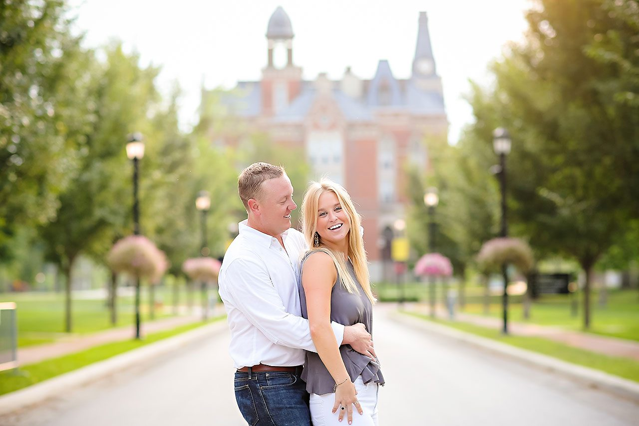 Jamie Reid Depauw University Engagement Session 054