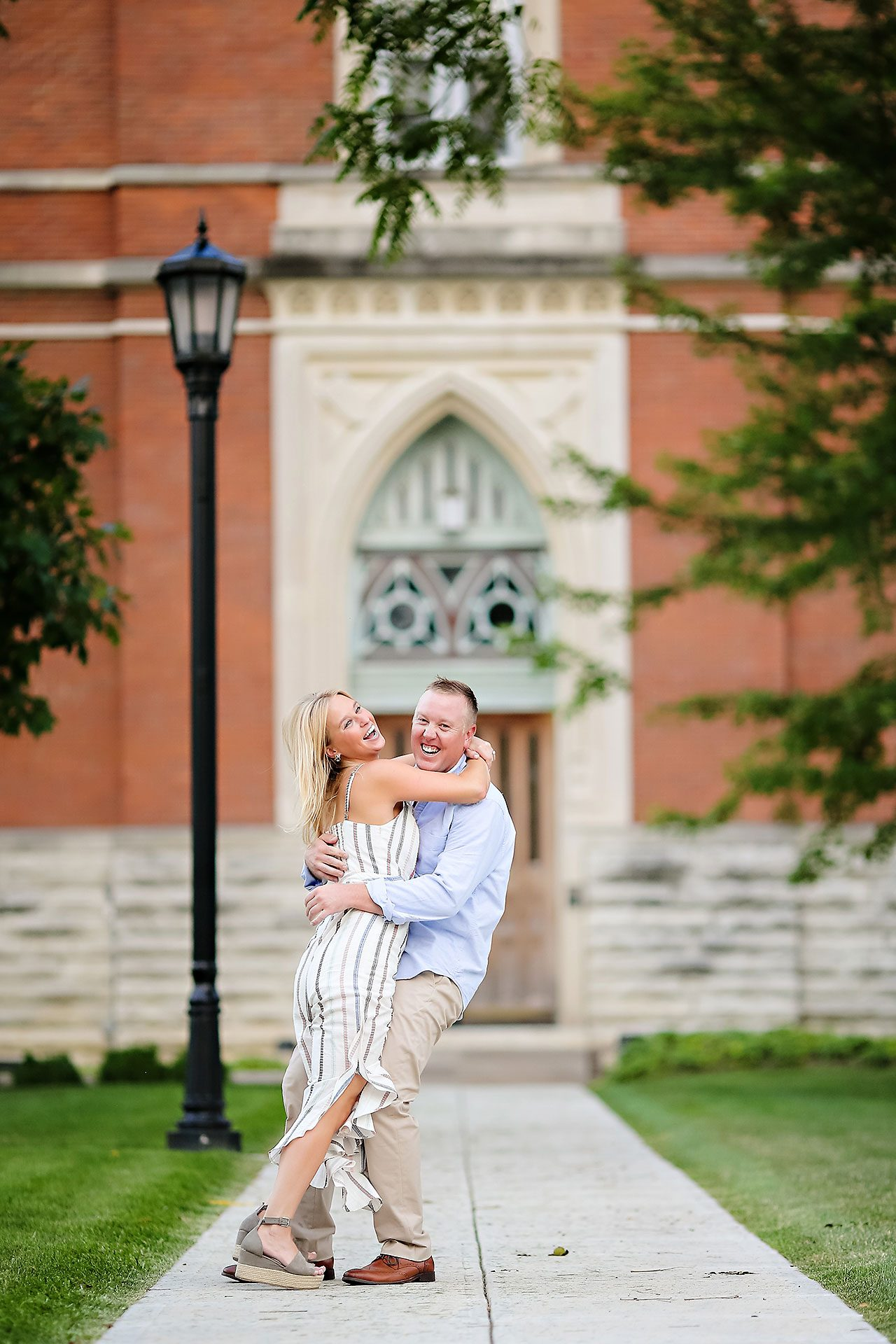 Jamie Reid Depauw University Engagement Session 056