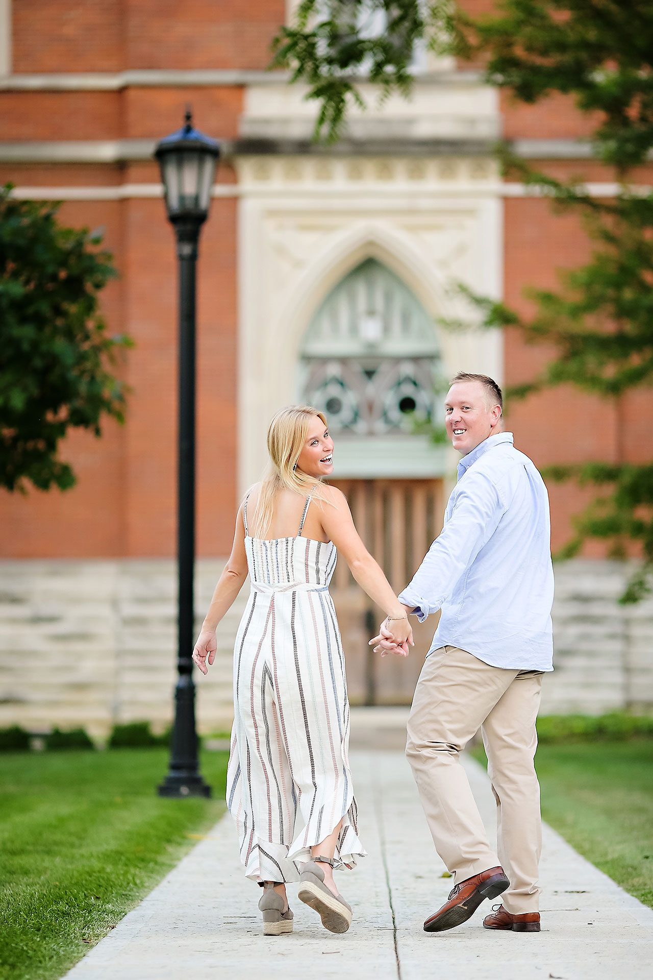 Jamie Reid Depauw University Engagement Session 076