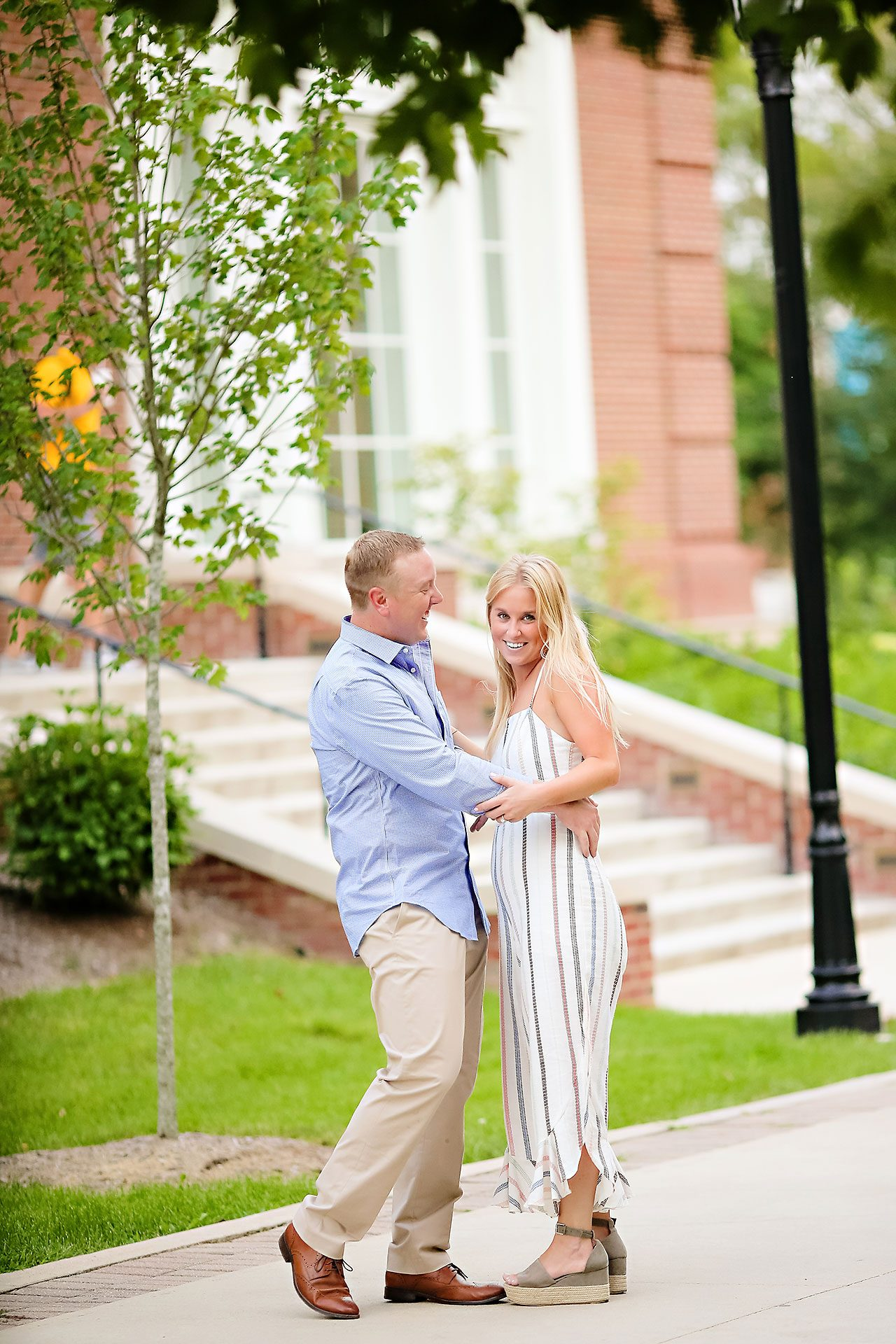 Jamie Reid Depauw University Engagement Session 092