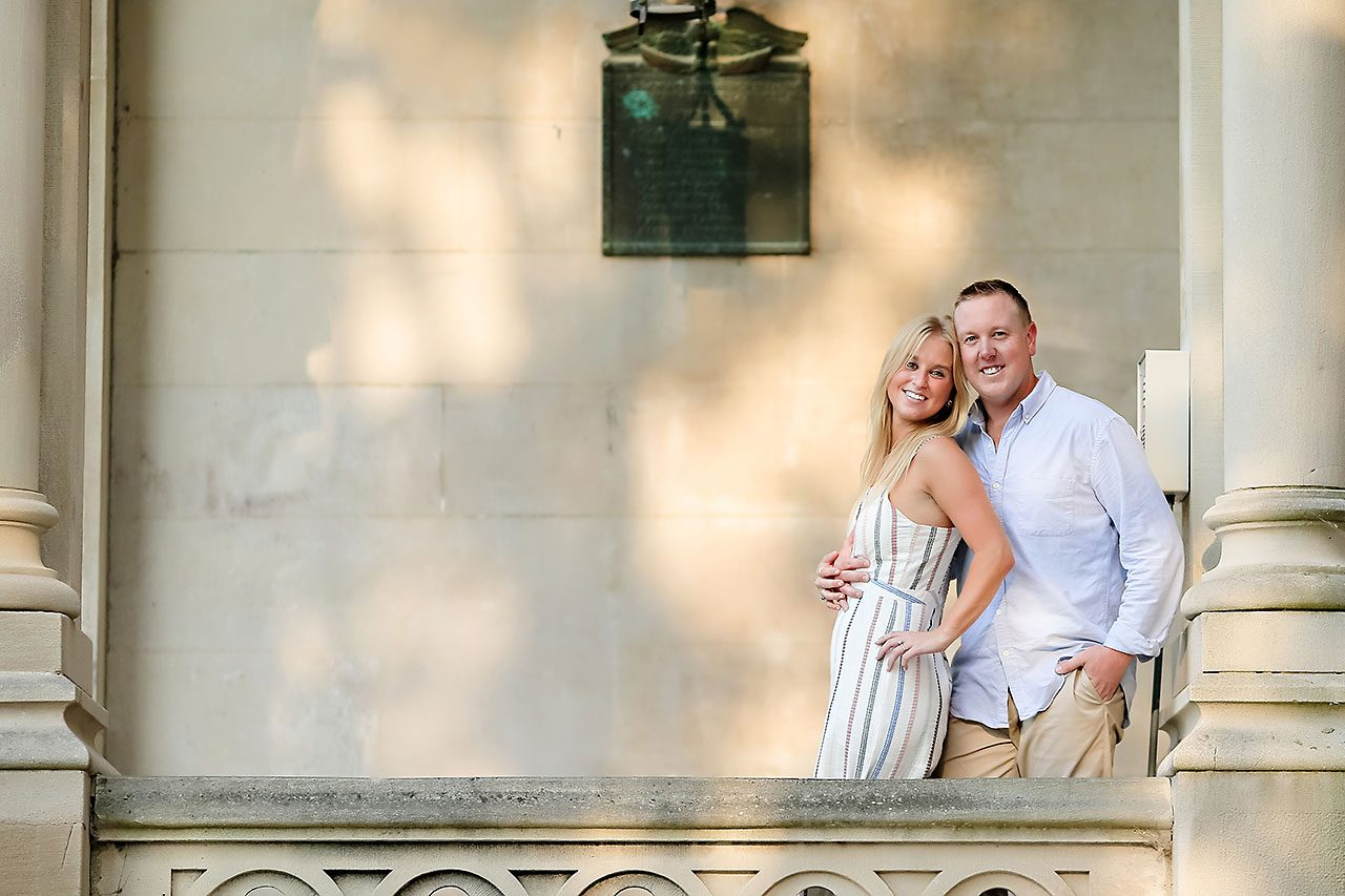 Jamie Reid Depauw University Engagement Session 095