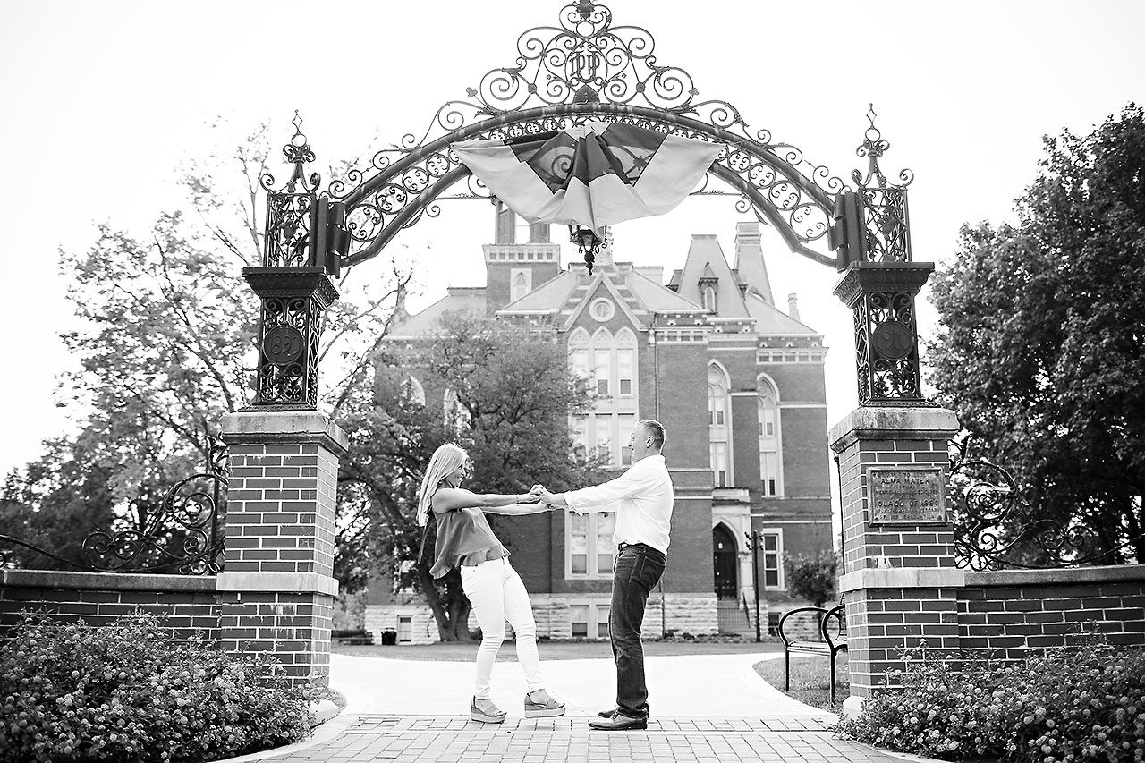 Jamie Reid Depauw University Engagement Session 119