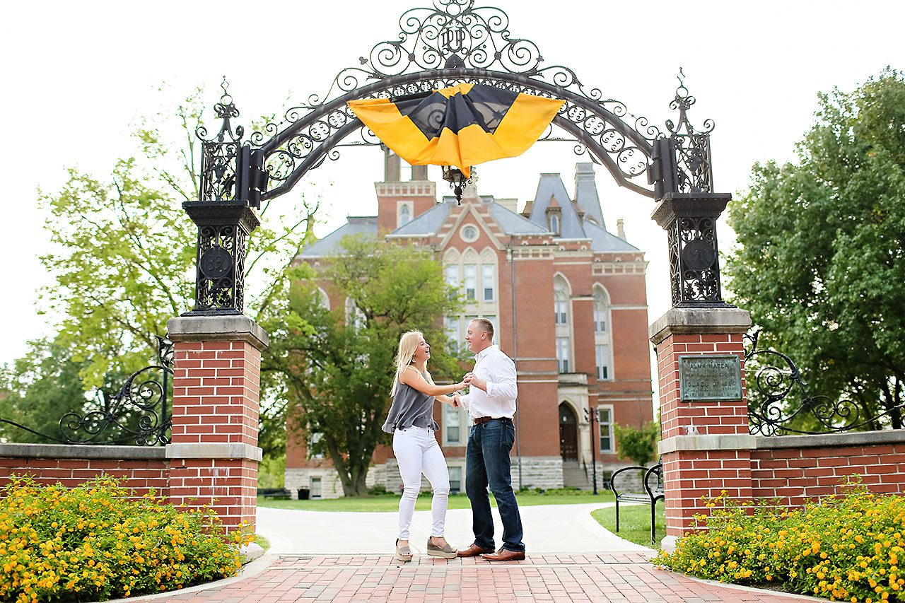 Jamie Reid Depauw University Engagement Session 142