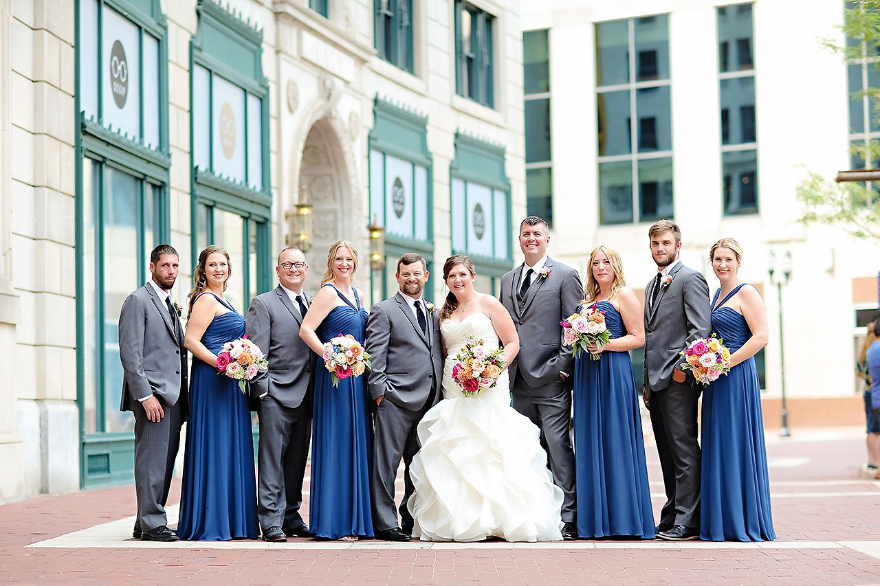 Erin John Artsgarden Indianapolis Wedding 116