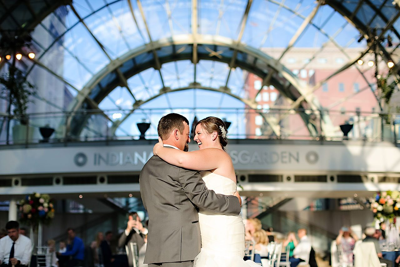 Erin John Artsgarden Indianapolis Wedding 282