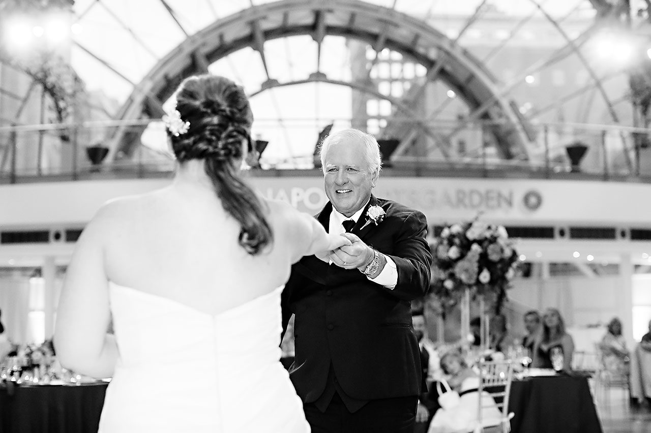 Erin John Artsgarden Indianapolis Wedding 337