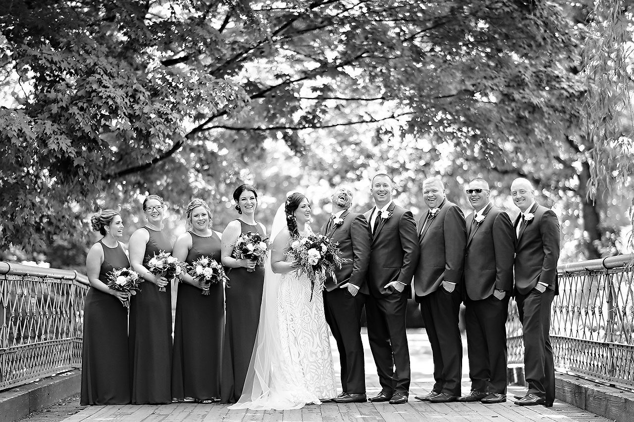 Jen Chris Ritz Charles Garden Pavilion Wedding 150