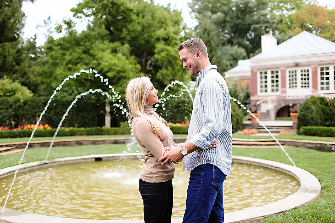 Jennie Mark Downtown Indianapolis Engagement Session 024