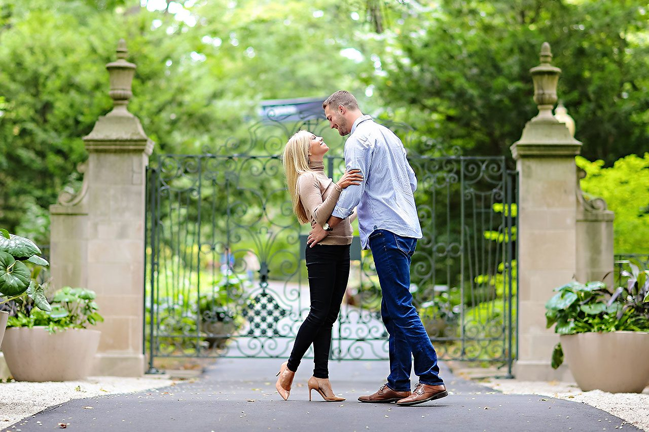 Jennie Mark Downtown Indianapolis Engagement Session 103