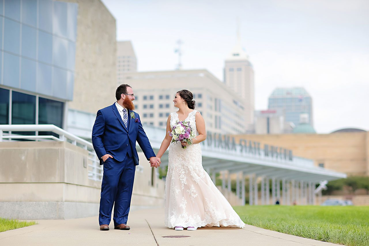 Kim Mike Indiana State Museum Wedding 152