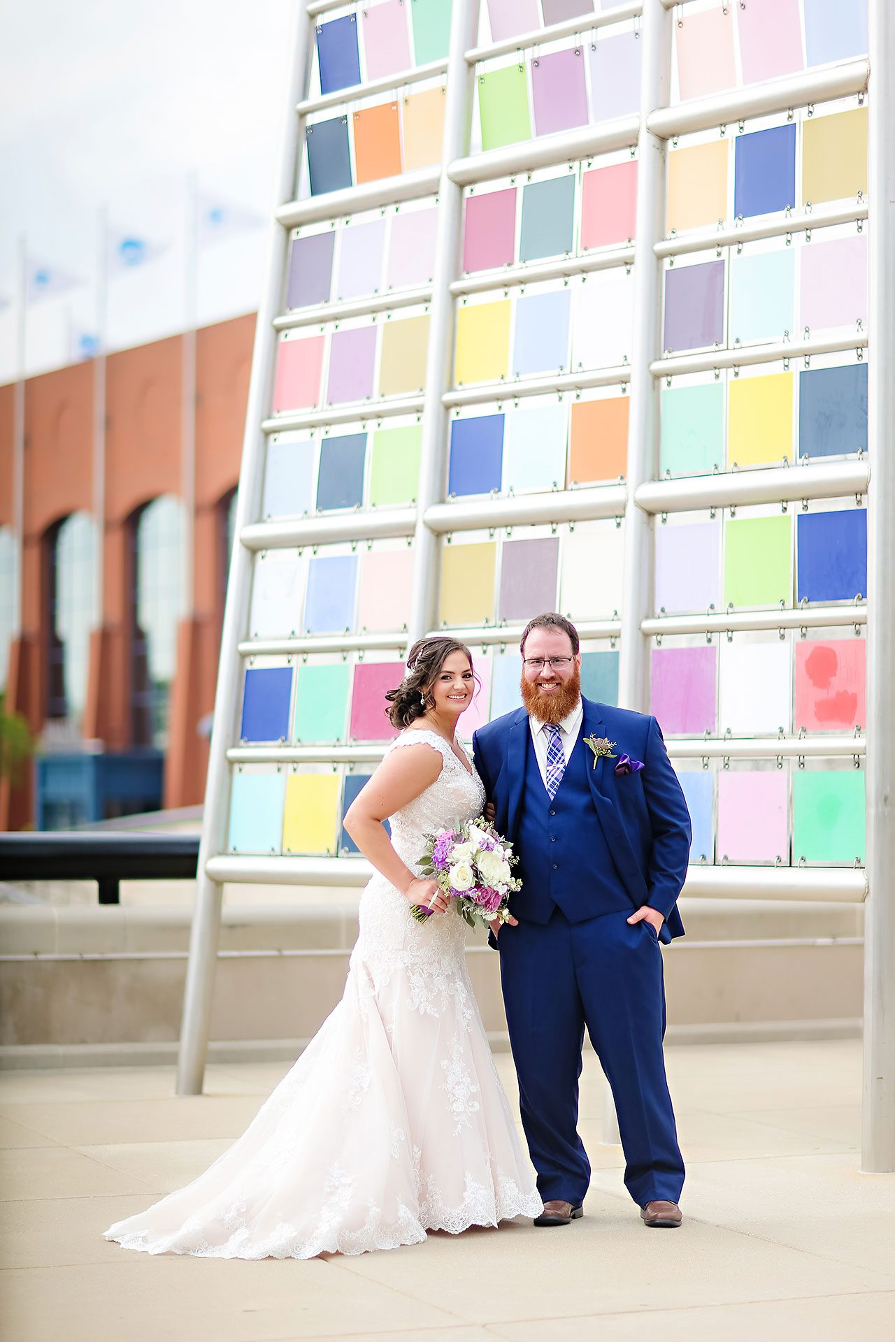 Kim Mike Indiana State Museum Wedding 159