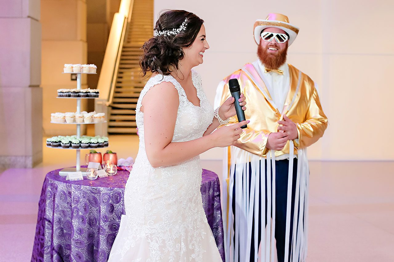 Kim Mike Indiana State Museum Wedding 276