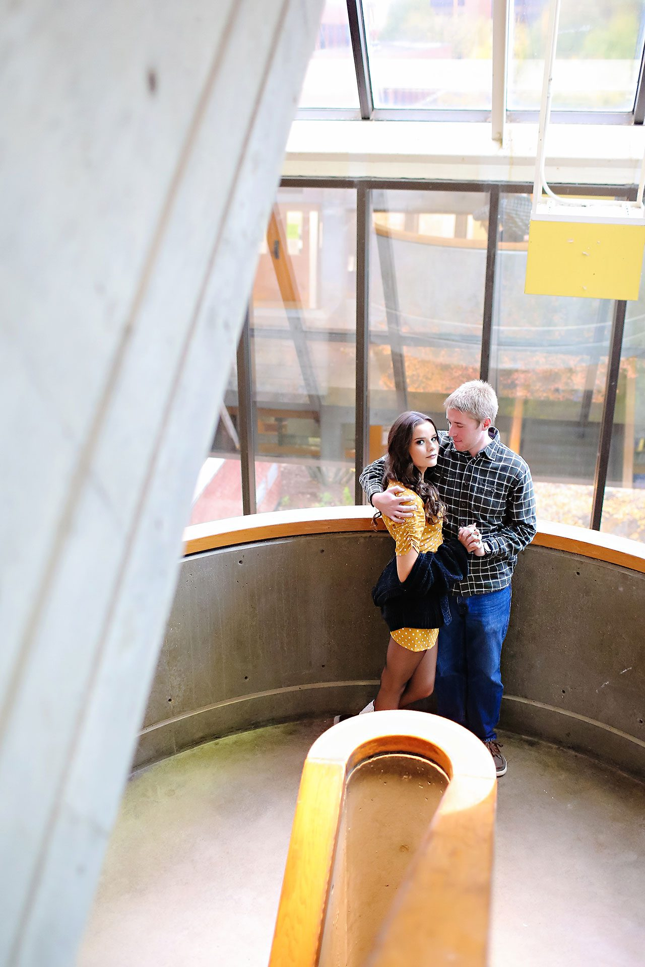 Hannah Ian Ball State Engagement Session 006